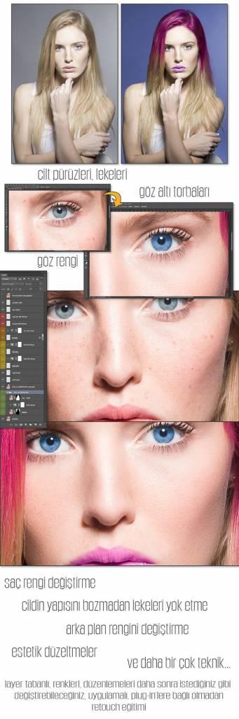 Retouch - İleri Seviye Photoshop Kursu