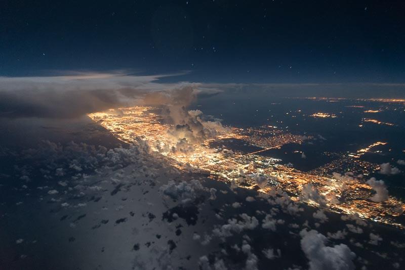 Bir Pilotun Kadrajından Muhteşem Görüntüler: Sana Kokpitten Baktım Ey Yeryüzü!