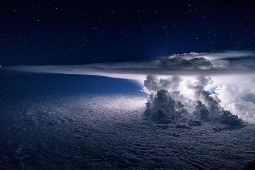 Bir Pilotun Kadrajından Muhteşem Görüntüler: Sana Kokpitten Baktım Ey Yeryüzü! Fotoğraf Bloğu 1