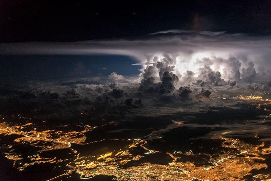 Bir Pilotun Kadrajından Muhteşem Görüntüler: Sana Kokpitten Baktım Ey Yeryüzü! Fotoğraf Bloğu 4