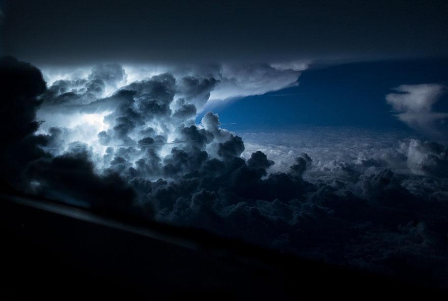 Bir Pilotun Kadrajından Muhteşem Görüntüler: Sana Kokpitten Baktım Ey Yeryüzü! Fotoğraf Bloğu 9