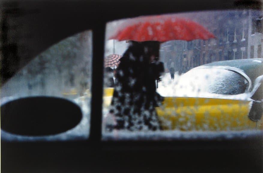 Dünyayı Renklerle Gören Bir Sokak Fotoğrafçısı: Saul Leiter Burak Bulut Fotoğraf Blok 1