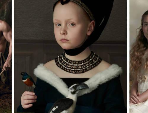 Klasik Tabloları Andıran Çarpıcı Portre Fotoğrafları