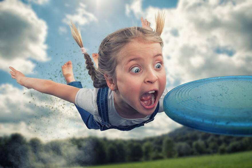 Yaratıcı Photoshop Teknikleri İle Kızlarına Yeni Dünyalar Yaratan Fotoğrafçı Yaratıcı Photoshop Teknikleri 8