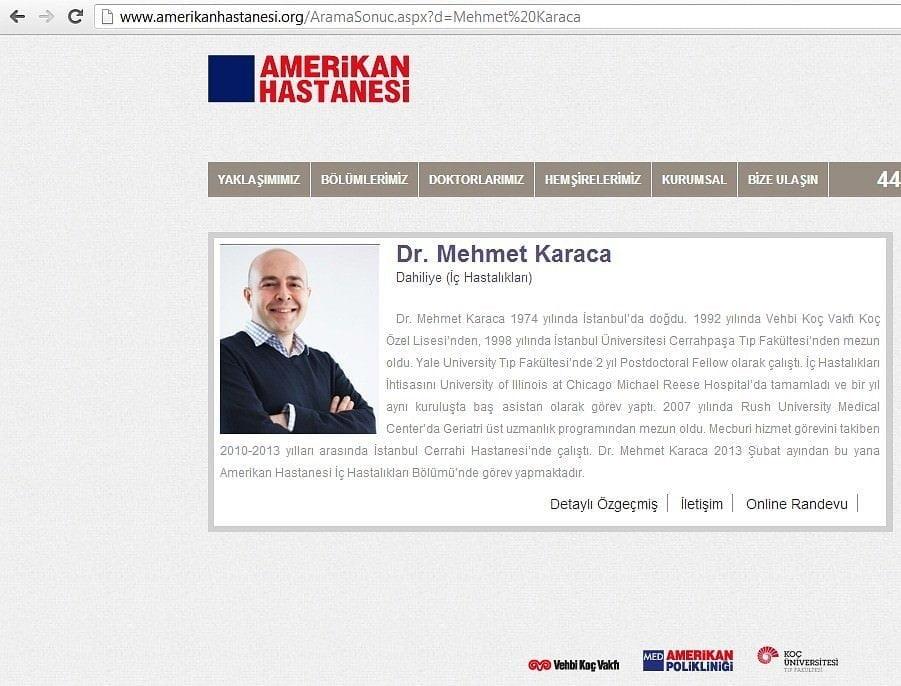 İş İnsanı Portre Fotoğraf Çekimi Mehmet Karaca AmerikanHastanesi