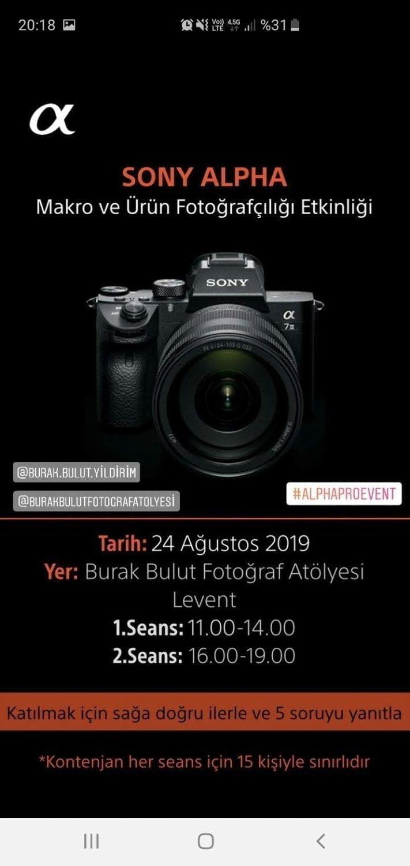 Profesyonel Fotoğrafçılar