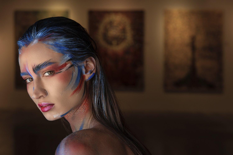 Moda Çekimi - Editorial - Beauty beauty güzellik makeup makyaj fotoğraf cekimi 9