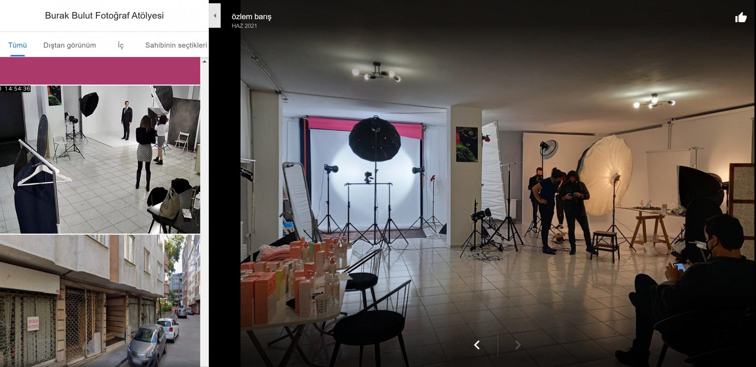 Kiralık Fotoğraf Stüdyosu
